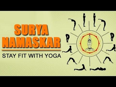 stay fit with yoga  surya namaskar  get ready for