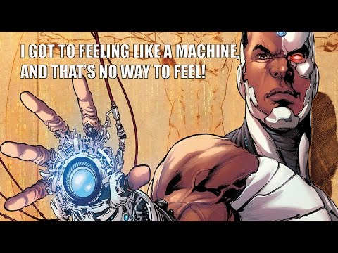A Comic Show 7.22.15: Cyborg, Can You Dig It?
