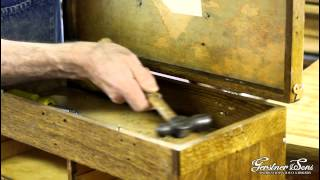 How To Install Split Rivets On A Gerstner Chest