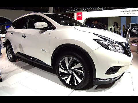 2016, 2017 Nissan Murano to be listed in China, new Nissan Murano 2016, 2017 model