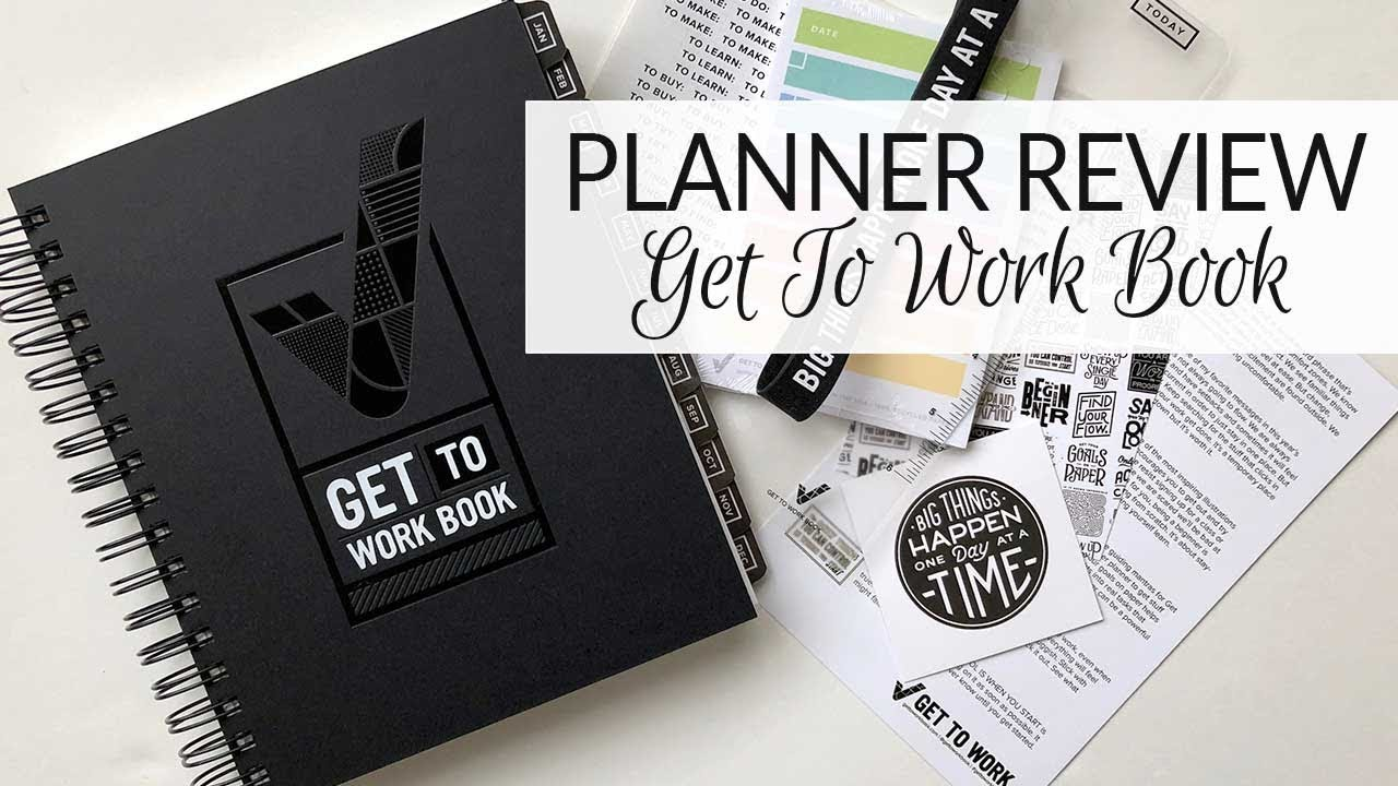 Planner Review | Get To Work Book | 2018