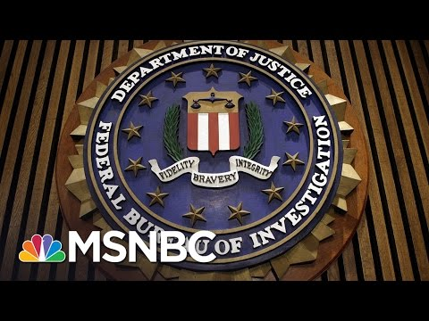 Thumbnail: FBI Won't Be Intimidated By President Trump Firing Of James Comey | Rachel Maddow | MSNBC
