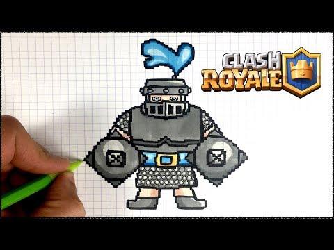 Pixel Art Geant De Clash Royale Dessin Facile Doovi