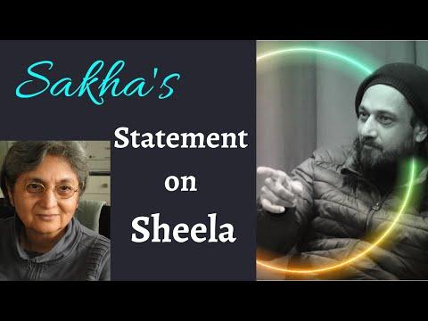 Sakha's  Statement on Sheela