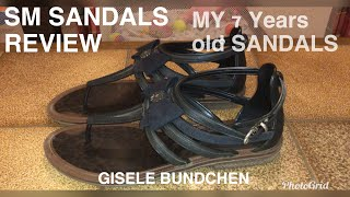 7 YEARS OLD SM SANDALS REVIEW |GISELE BUNDCHEN | The best brand |SM MARILAO SANDALS REVIEW