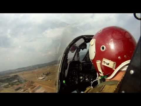 Mirage F1 Air Show Display Pilot POV