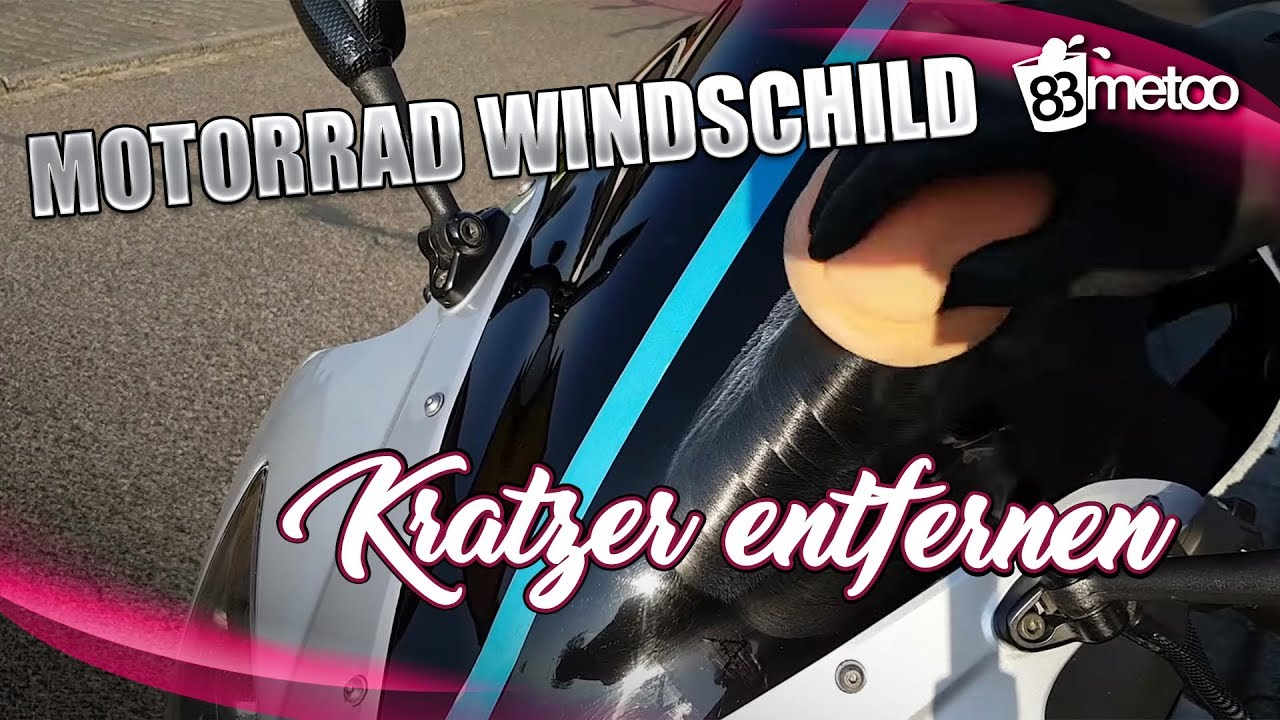 motorrad windschild kratzer entfernen motorrad. Black Bedroom Furniture Sets. Home Design Ideas