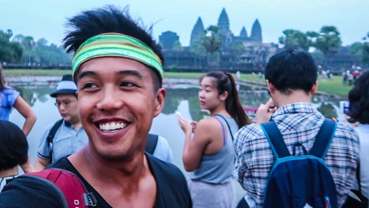 32 | THE MOST BEAUTIFUL SUNRISE AT ANGKOR WAT!!! (Southeast Asia Travel VLOG)