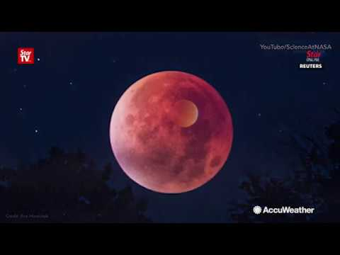 Lunar trio: A blue, blood, supermoon eclipse on Jan 31st