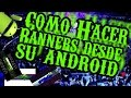 COMO HACER BANNER DESDE ANDROID