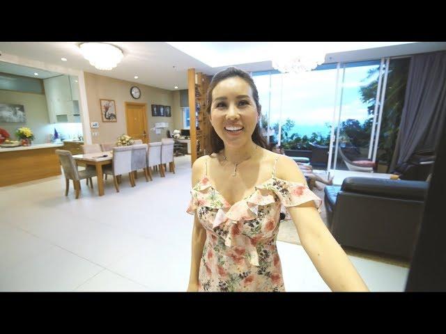 Ghé thăm căn hộ chung cư hơn 400 m2 của hoa hậu Thu Hoài| VIEW