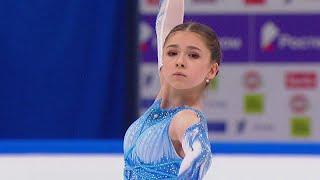 Камила Валиева Короткая программа Кубок России по фигурному катанию 2020 21 Пятый этап