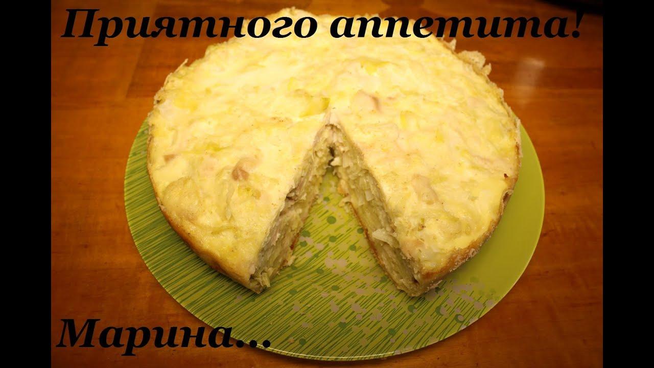Рецепт капустной запеканки в духовке с мясом и
