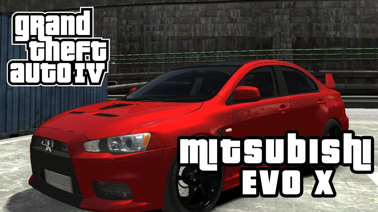 gta iv mods 15 mitsubishi lancer evo x youtube. Black Bedroom Furniture Sets. Home Design Ideas