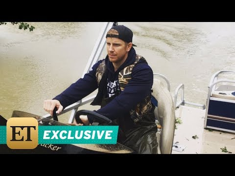EXCLUSIVE: 'Bachelor' Sean Lowe Helps Dying Man in Houston After Hurricane Harvey