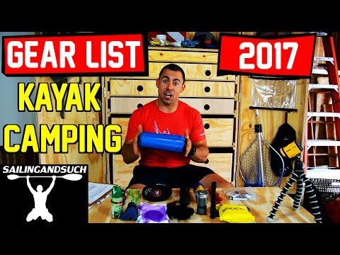Kayak Camping Gear List