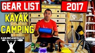 Kayaking Gear - Kayak Camping Gear List