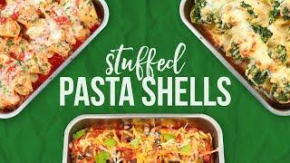 3 Stuffed Pasta Shell Recipes!