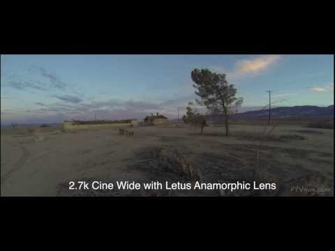 LETUS AnamorpX after hours in Lucerne Valley California
