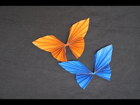 Easy Origami Butterfly Tutorial   Beautiful Paper Butterfly   Paper Crafts DIY Tutorial