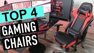 BEST 4: Gaming Chairs 2018