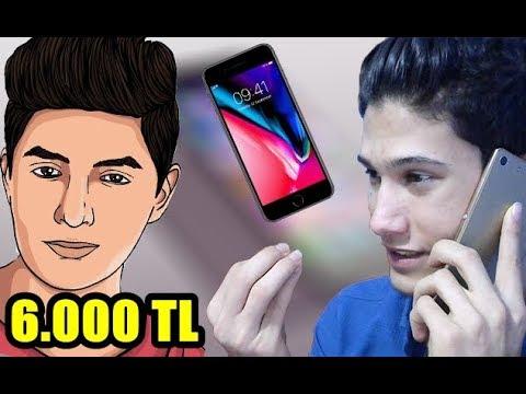 IPHONE X ALMAK İÇİN YOUTUBERLARDAN BORÇ PARA İSTEMEK (6.000 TL)