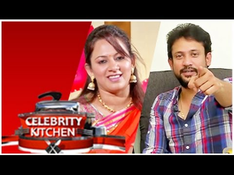 Anchor Archana & Actor Deepak In Celebrity Kitchen (14/02/2015)