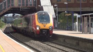 (HD) Virgin Voyager Diverts at West Ealing on the GWML 23.8.14