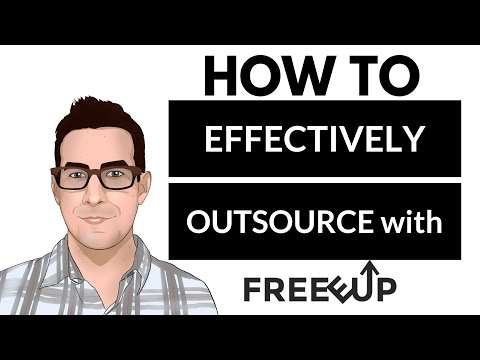 Outsourcing made EASY | Hiring remote workers, virtual assistants, freelancers and MORE with Freeeup