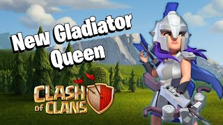 New Gladiator Queen Skin || May Seasonal Challenges Update Review || Clash of Clans - COC