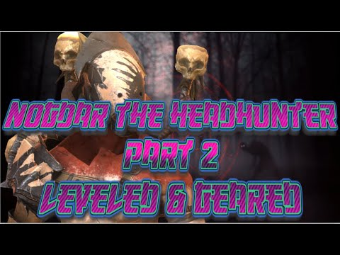 Nogdar the Headhunter Part 2: Leveled and Geared! | Raid: Shadow Legends