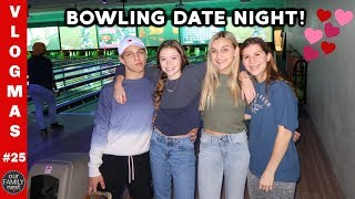 BOWLING DATE NIGHT with the WHOLE FAMILY!