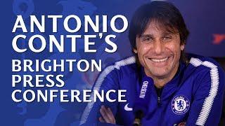 Antonio Conte On Team News, Transfers & VAR | Brighton v Chelsea