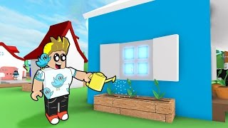 Roblox / Meep City - Planting Flowers and New House Windows! / Gamer Chad Plays