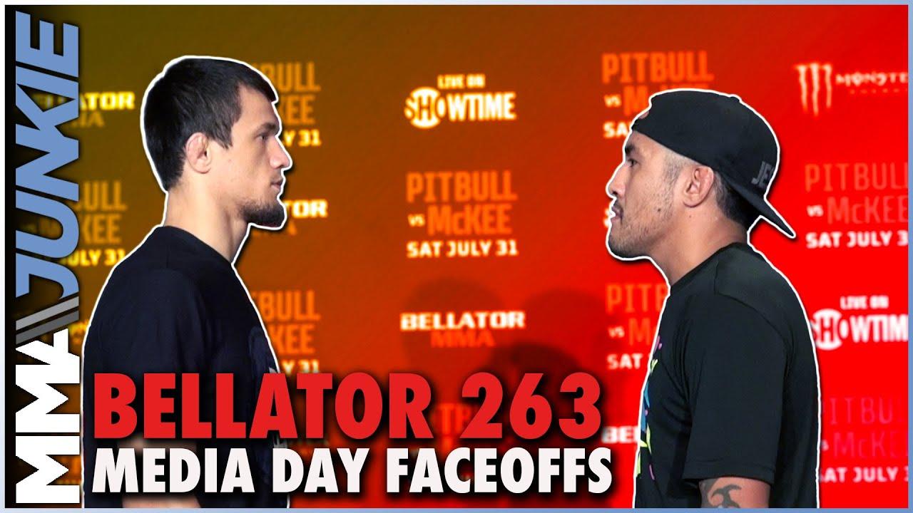 Bellator 263 media day faceoffs