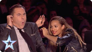 Billy & Emily get the Judges in a spin | Britain's Got Talent 2015