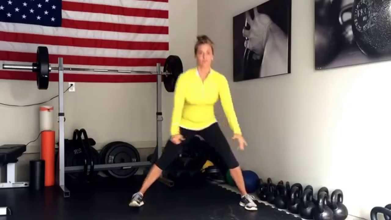 Karen Smith Master SFG - Cossack Squat tutorial