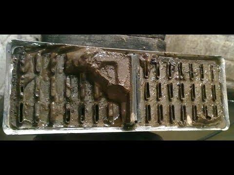 Промывка радиатора печки (достойный результат)