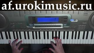 vse.urokimusic.ru Аккорды для фортепиано. Песня feelings. Обучение игре на фортепиано