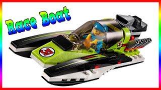 Lego City 60114 Race Boat - Build Speed Lego
