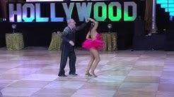 Angie DeGrazia and Michael Hirsch. Hollywood Dancesport 2018