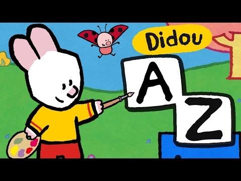 Apprendre les lettres avec Didou | Les lettres de A à Z | Alphabet Compilation HD