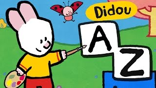 Apprendre les lettres avec Didou | Les lettres de A à Z | Alphabet Compilation HD , plus 🎨 ici ⬇⬇⬇