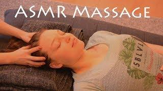 ASMR Massage in erster Praxis für Speed Relax Training (mit Sarah von Pflanzenhunger)
