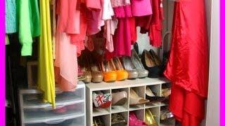 My Closet Tour Organization & Storage (update)