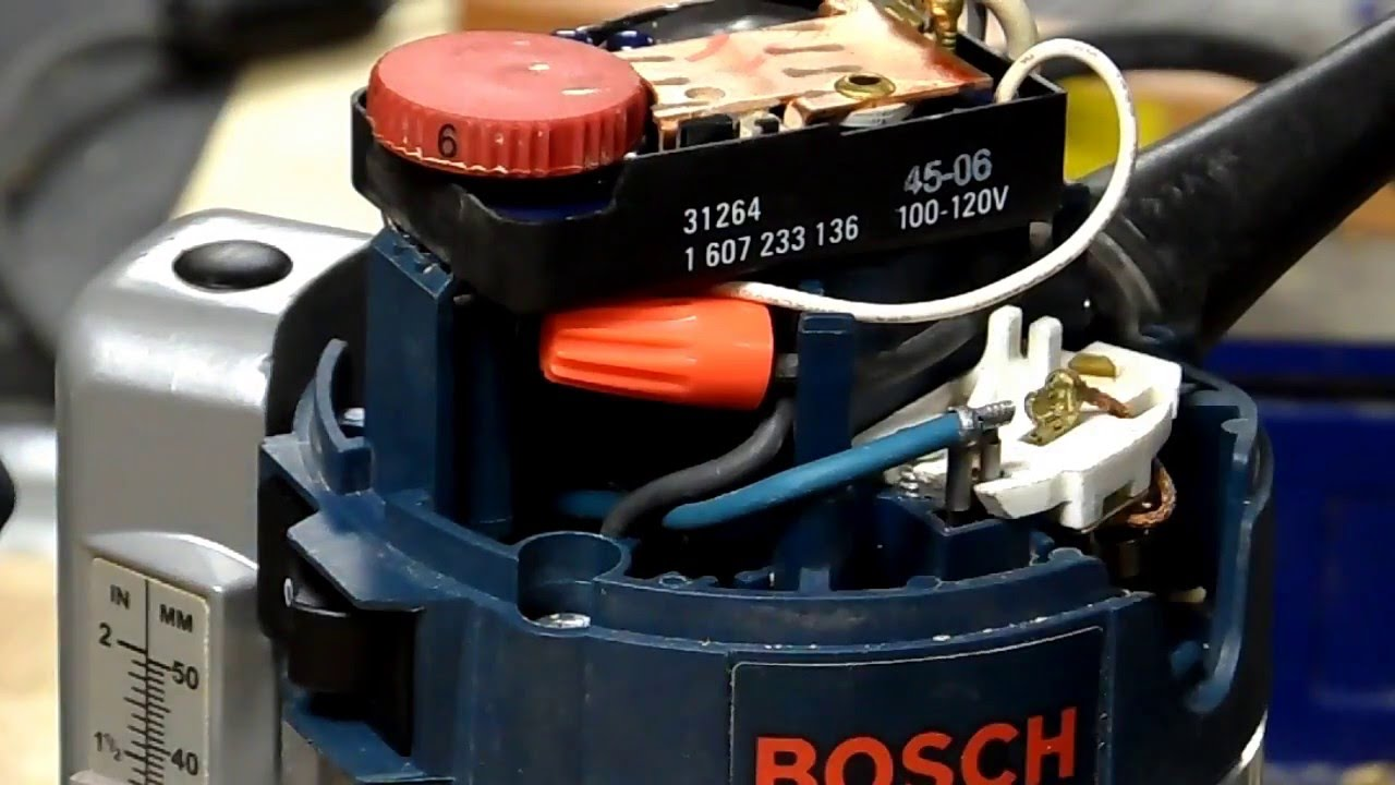 Gpw 42d - Router Switch Replacement  Bosch 1617evs