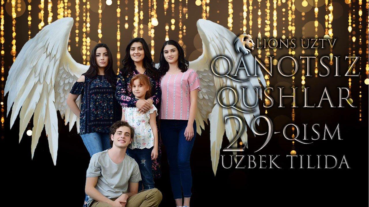 QANOTSIZ QUSHLAR 29 QISM TURK SERIALI UZBEK TILIDA | КАНОТСИЗ КУШЛАР 29 КИСМ УЗБЕК ТИЛИДА