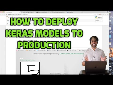 How to deploy Keras model to production using flask (part