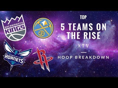 5 NBA Teams on the Rise 2017-2018