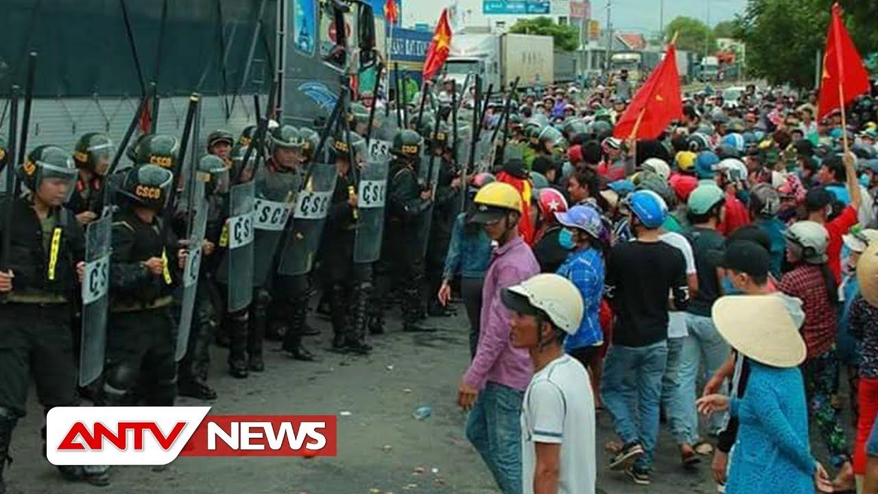TOÀN CẢNH: Bạo động ở Bình Thuận – Biểu tình quá khích   Tin tức   Tin tức 24h mới nhất   ANTV